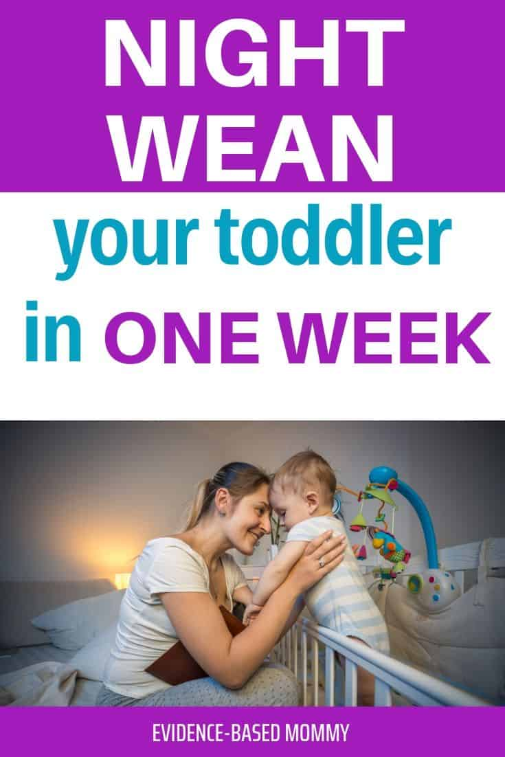 toddler night weaning