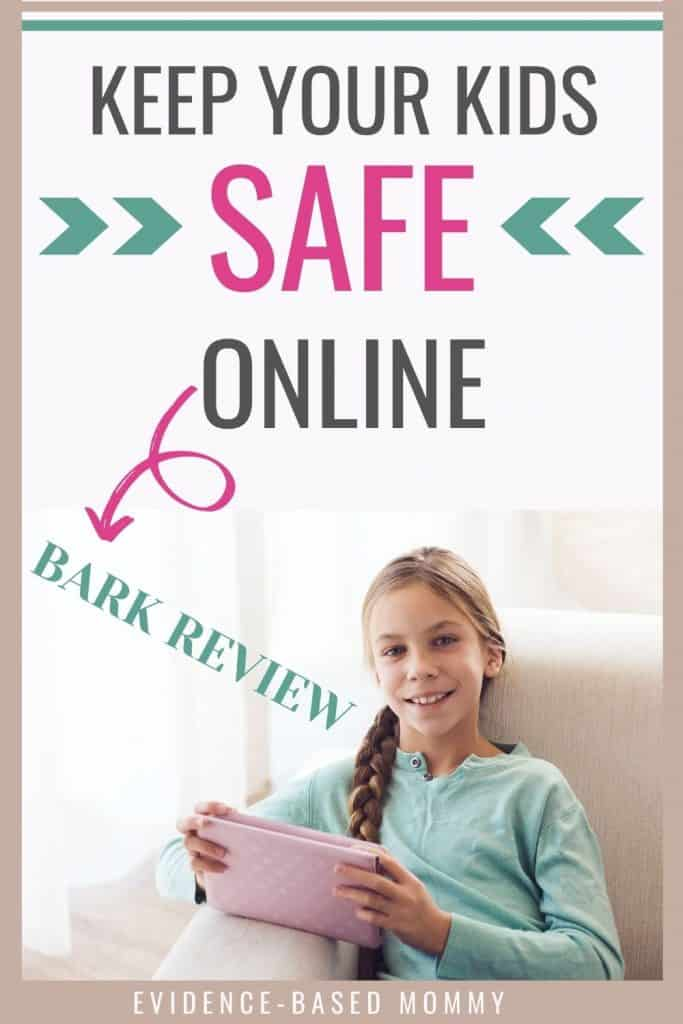 Review of Bark for kids