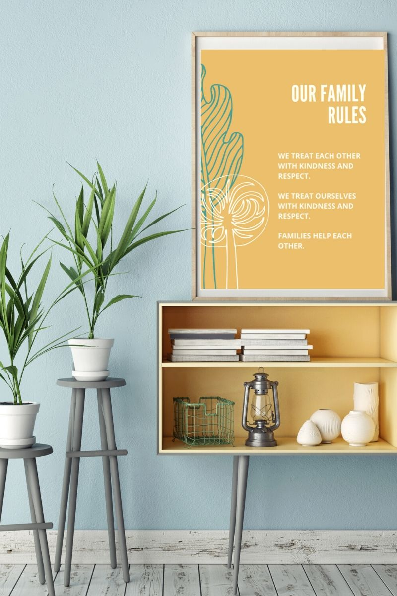 family-rules-printable