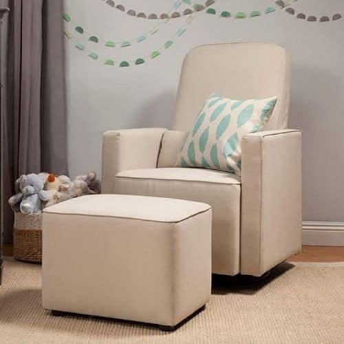 glider and ottoman for nursery