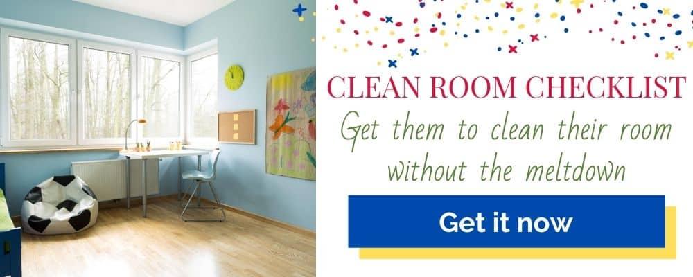 clean room checklist header