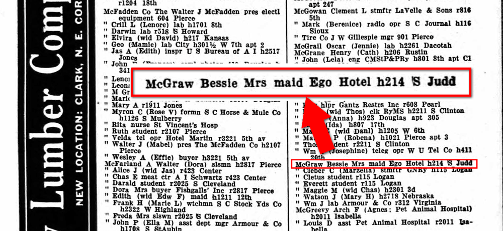 Sioux-City-Directory-1931-Bess-McGraw-cropped-image