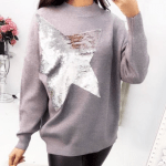 Grey Star Sweater