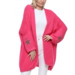 Star Cardigan Long