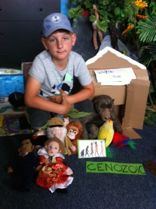christopher-second-grade-with-cenozoic-animals-and-people
