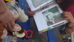 children matching Jane Austen doll to picture, Bonn, Fest der Kulturen