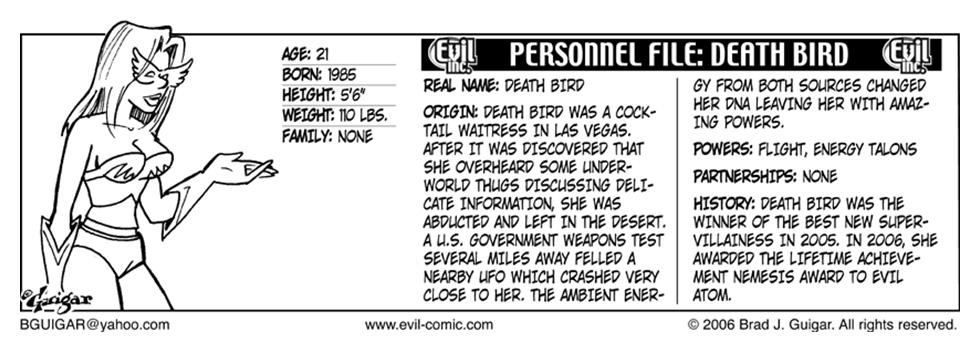 Evil Atom Origin Story