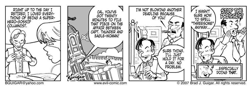 Super Gossip Columnist