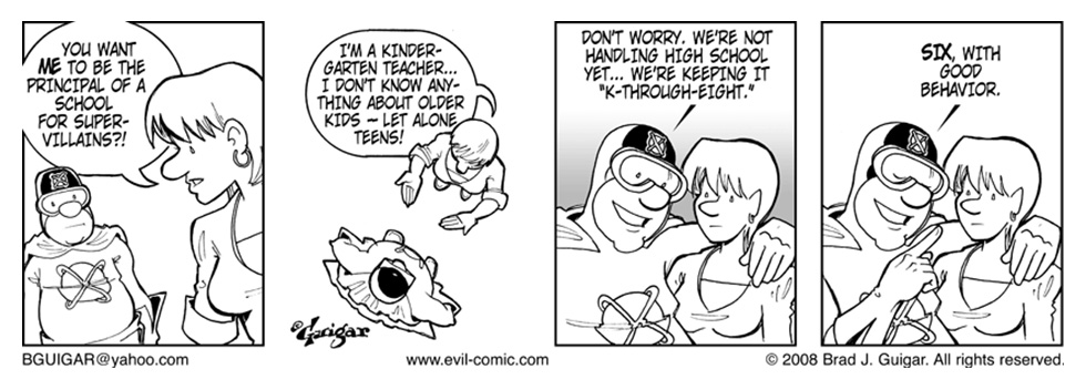 Evil Inc Charter School