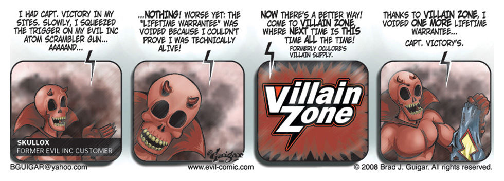 Occulores Villain Zone
