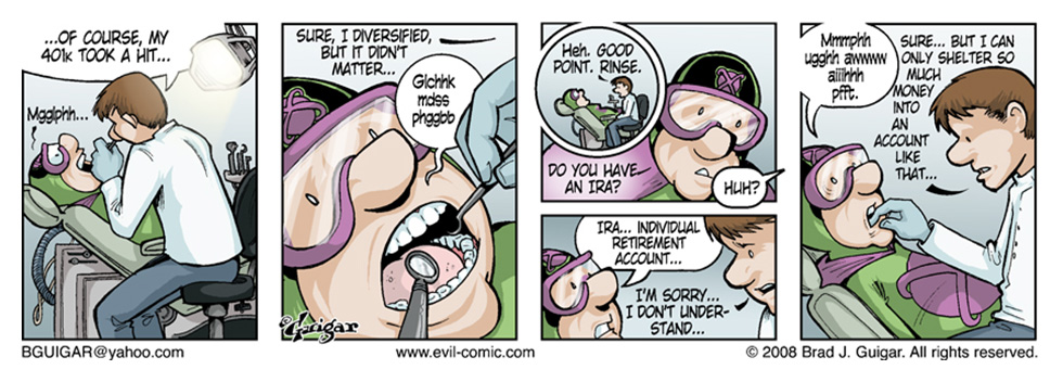 Evil Atoms Dentist