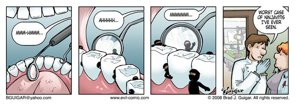 Evil Atoms Dentist