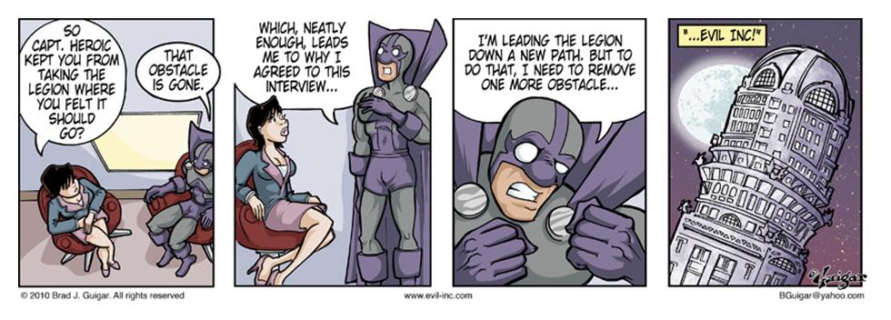 Leagues War On Evil