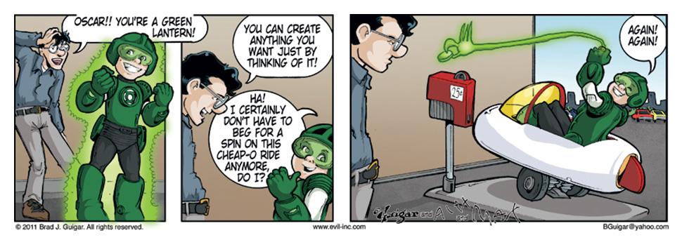 Oscar Green Lantern