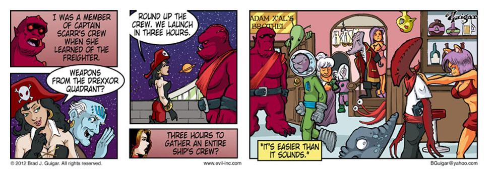Space Pirates Three