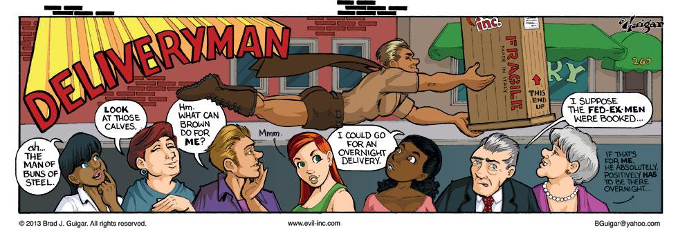 Sexy Deliveryman