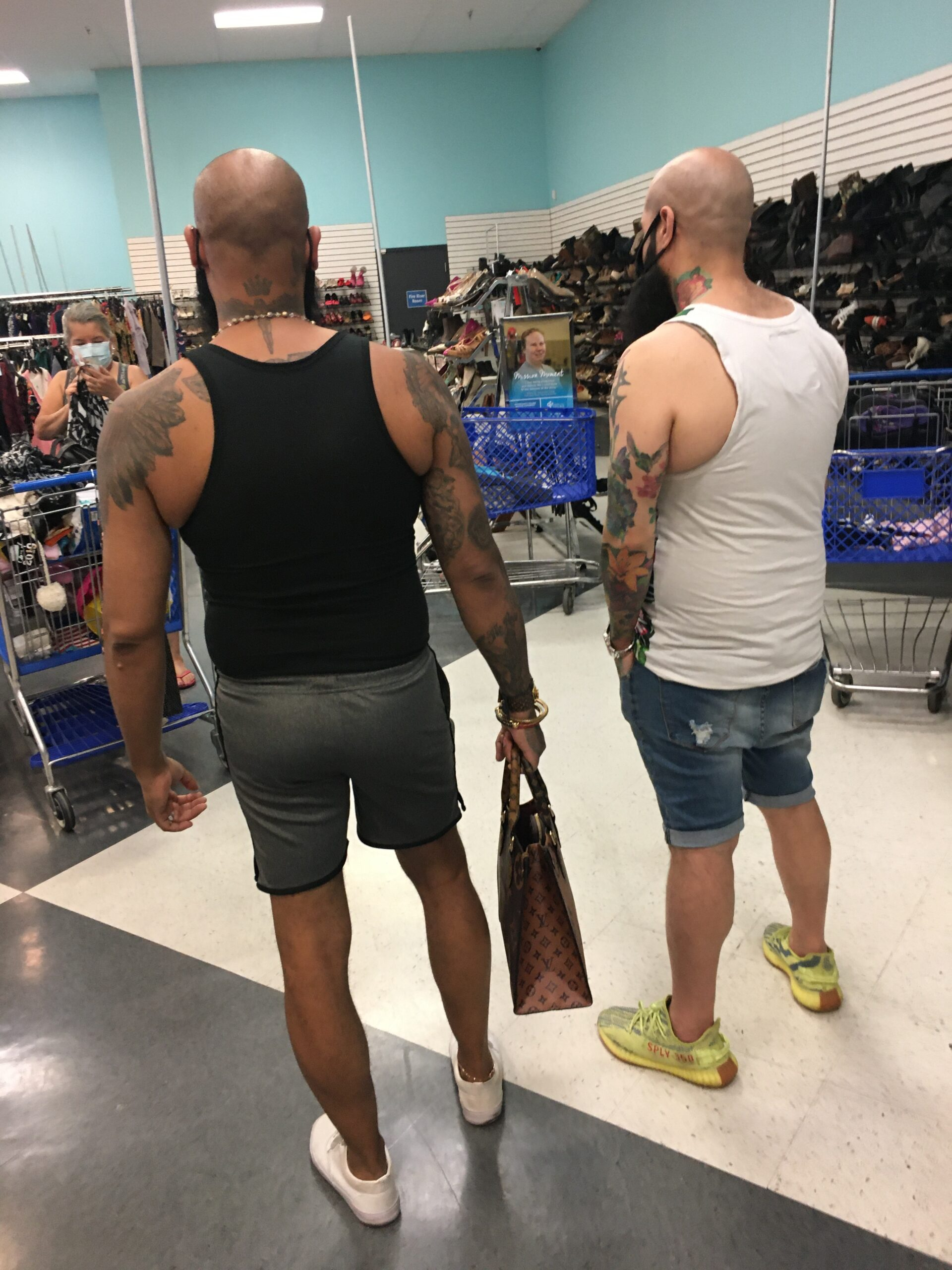 """""""Twinsies"""" in a Vegas Thrift Store"""