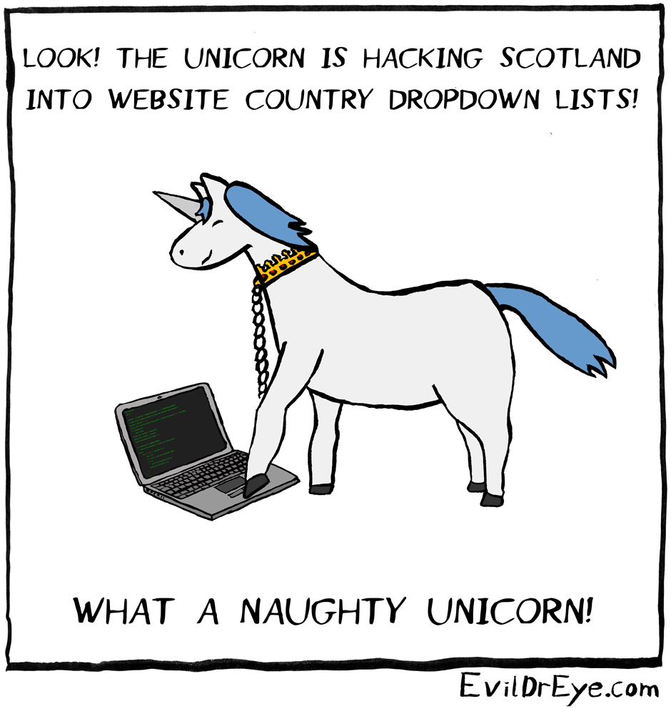 Naughty Unicorn – Hacking