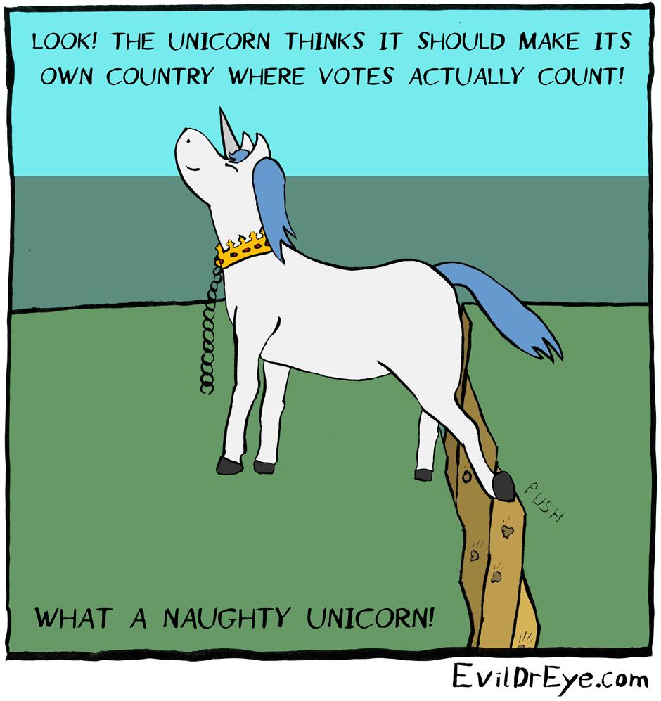 Naughty Unicorn – Push