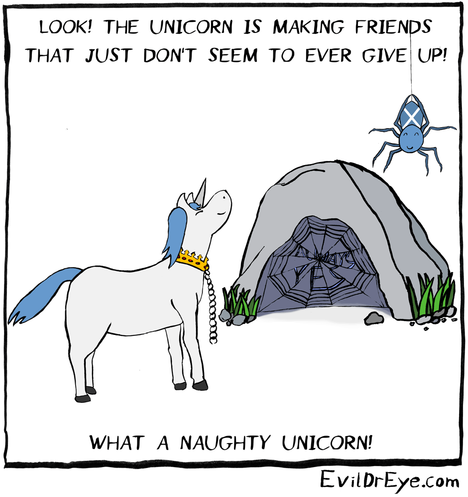 Naughty Unicorn – Spider