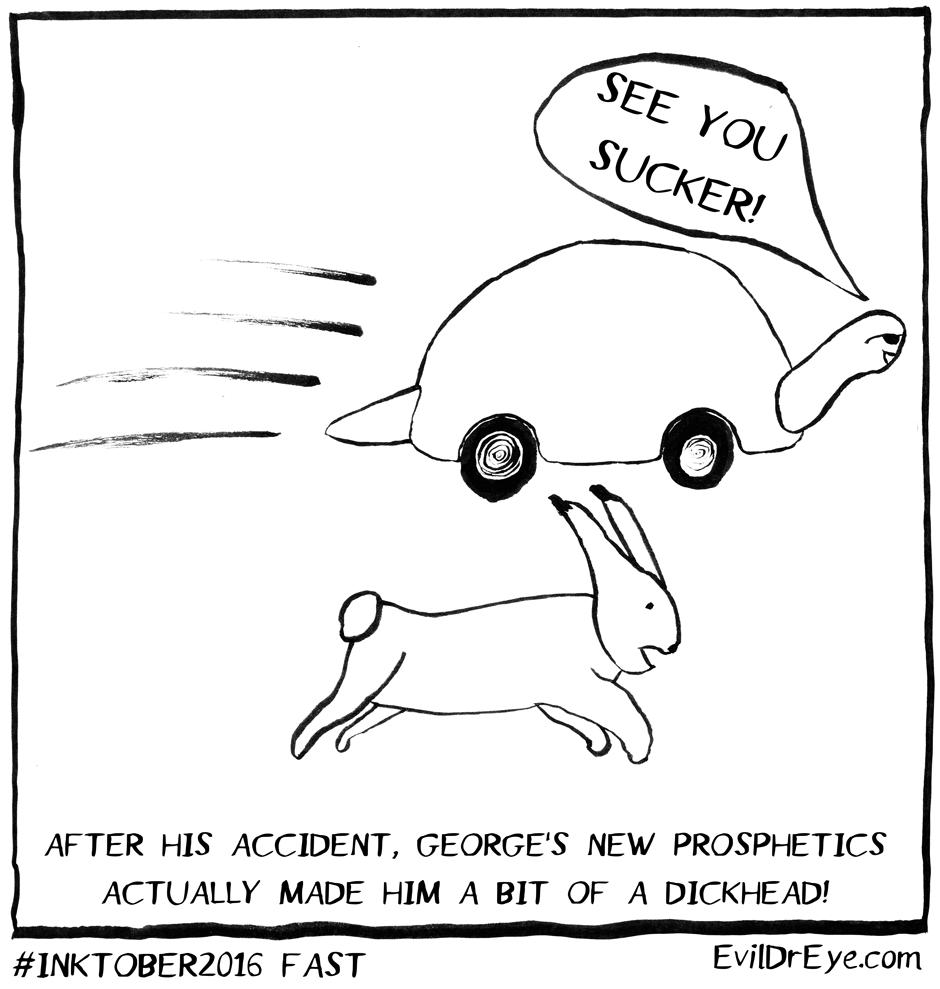#Inktober2016 – Fast