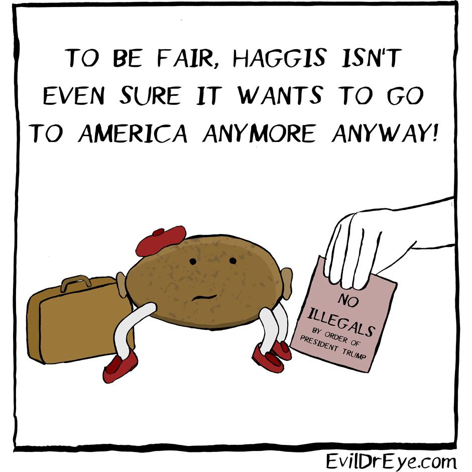 Haggis – America
