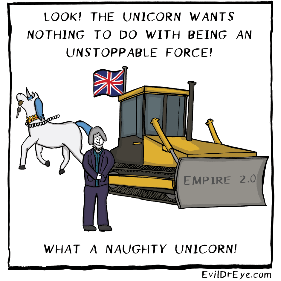 Naughty Unicorn – Unstoppable Force