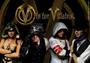 V is for Villains at Evil Expo!