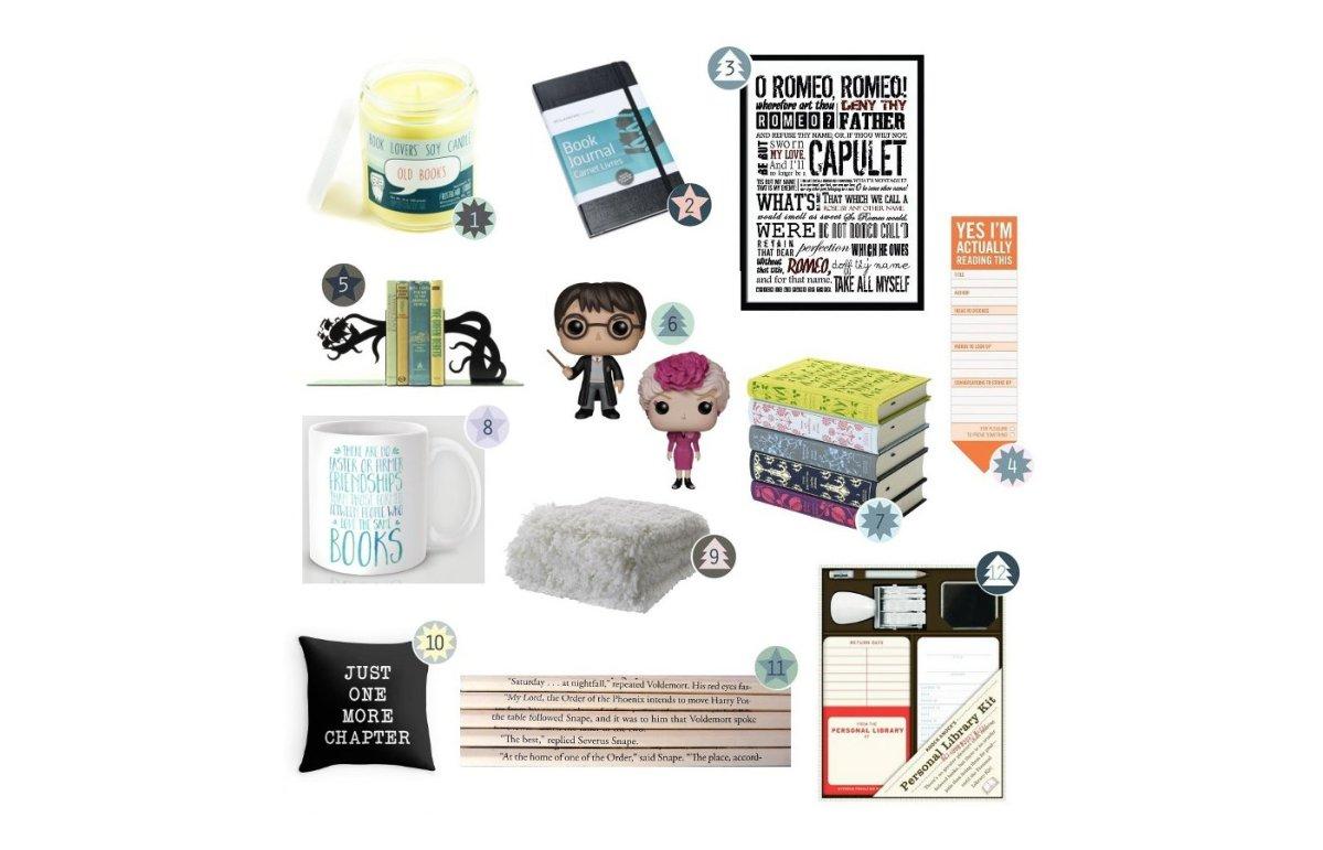 Noël : 12 idées de cadeaux pour ceux qui aiment lire