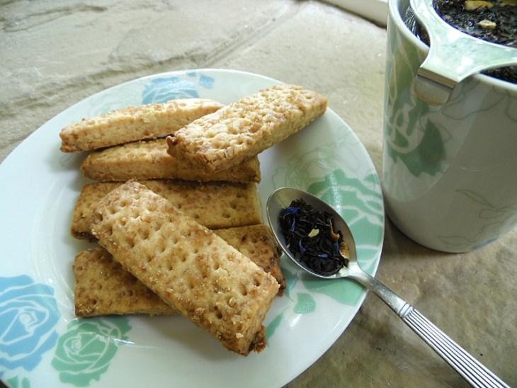 Des Shortbreads pour l'heure du thé