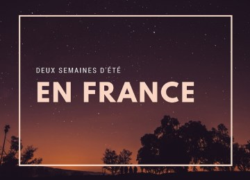 Deux semaines en France