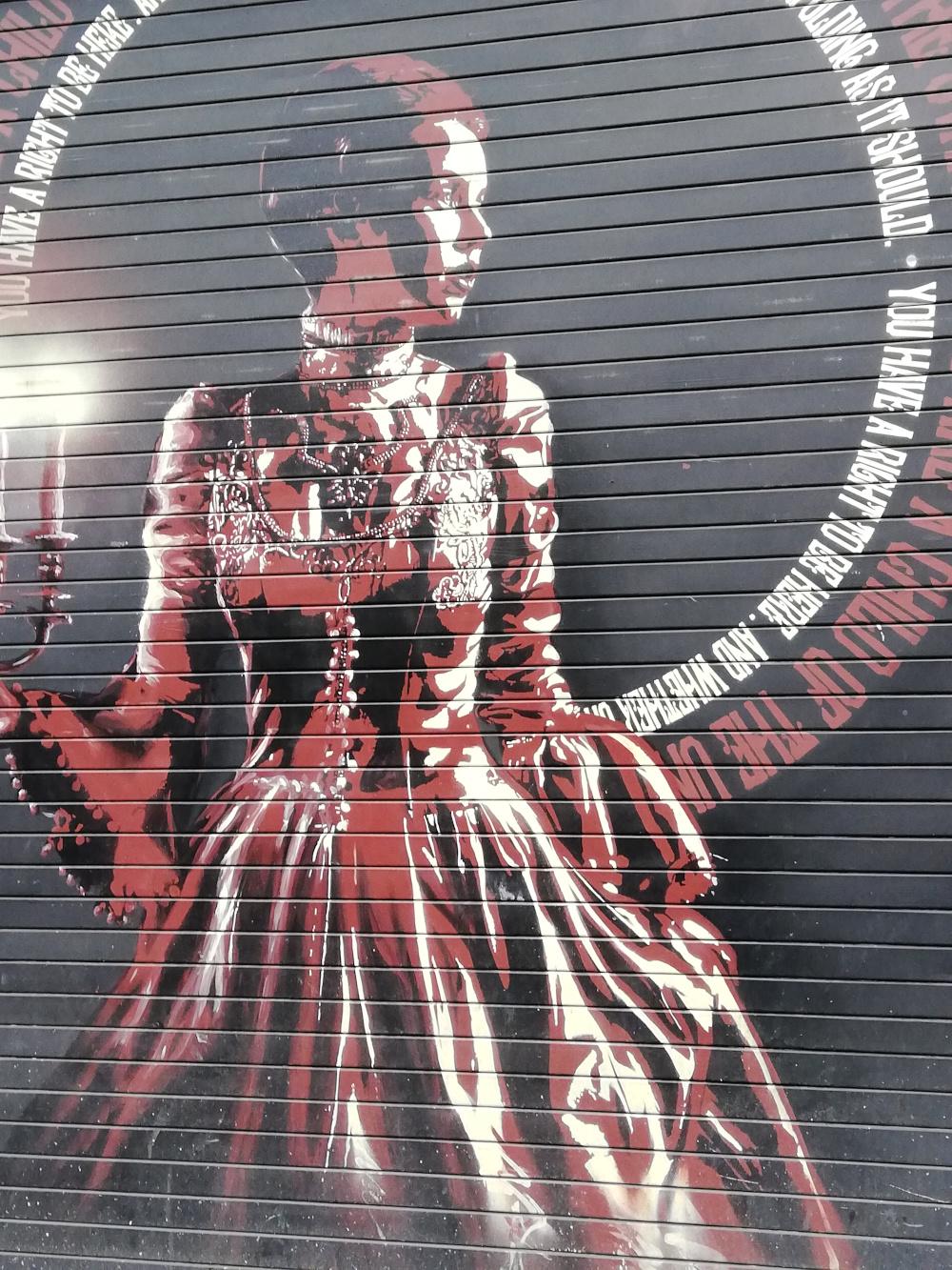 Street art dans le Northern Quarter de Manchester