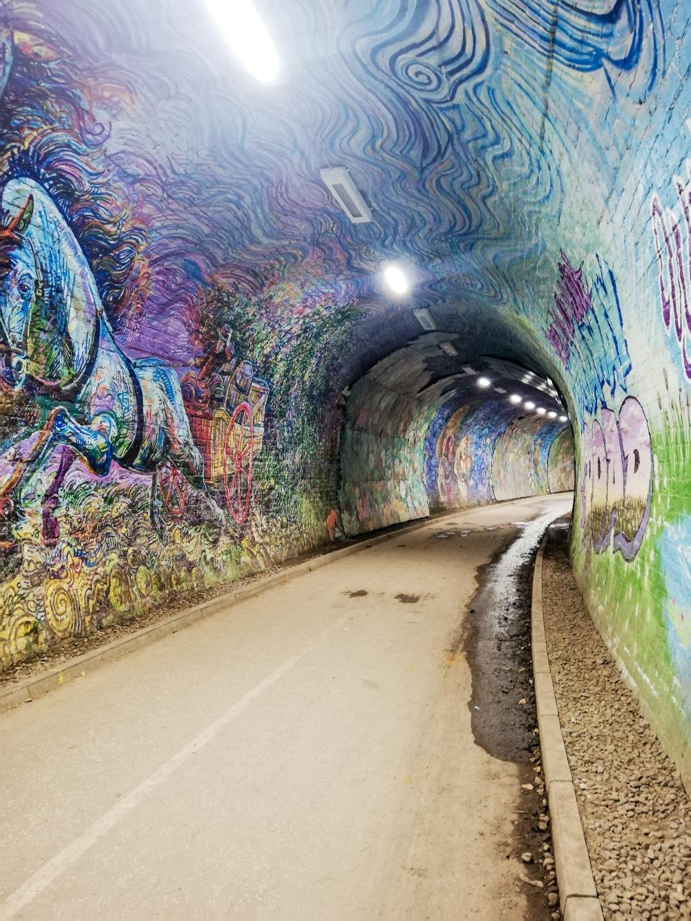Colinton Tunnel, Edimbourg