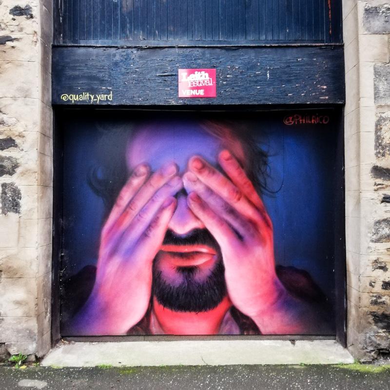 Street art à Edimbourg