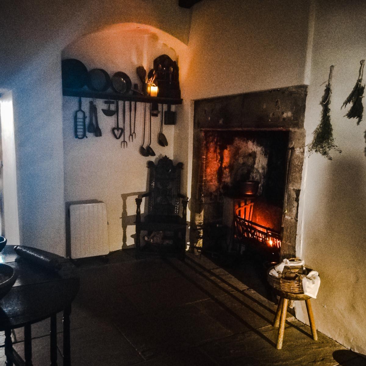 1632, les appartements de John Riddoch et Margaret Noble