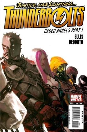 thunderbolts caged angels
