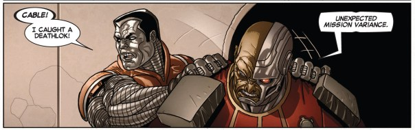 In this episode, Colossus plays the Beaver!