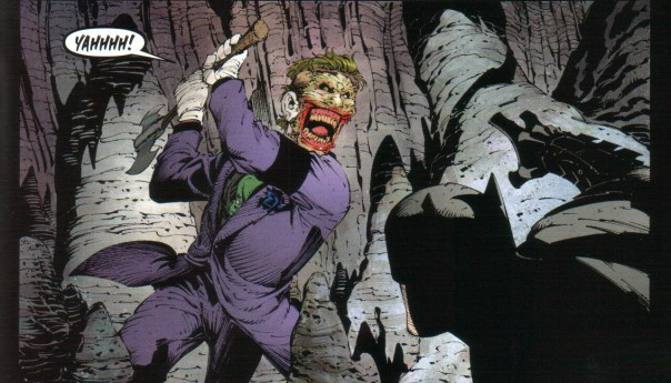 Capullo's art made me fear the Joker this time around! So psychotic!