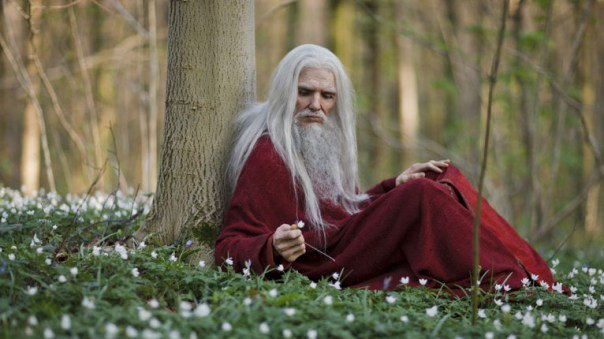 Merlin's alter ego plays an important role in Uther's death this season.
