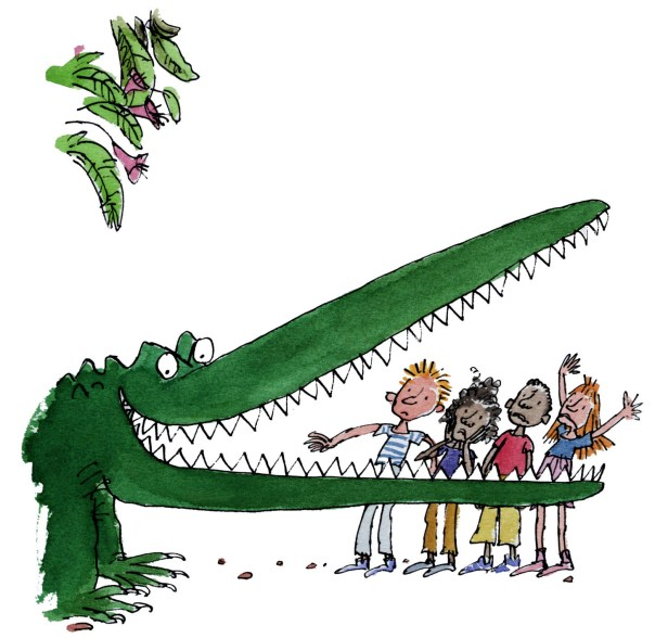 Thank you Dahl for your amazing stories, even if they did frighten the bejezuz out of me as a child...