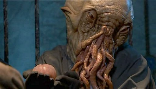 An untainted Ood with its hindbrain still attached.