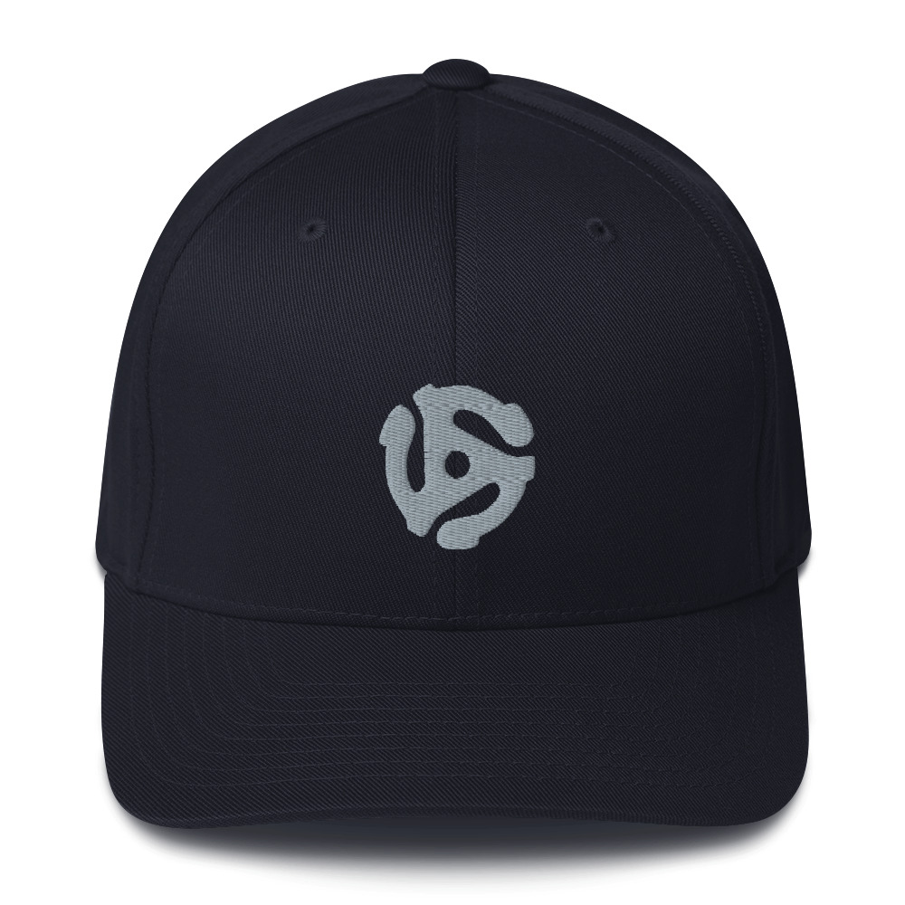 45-Adapter <br>Embroidered Flexfit Twill Cap