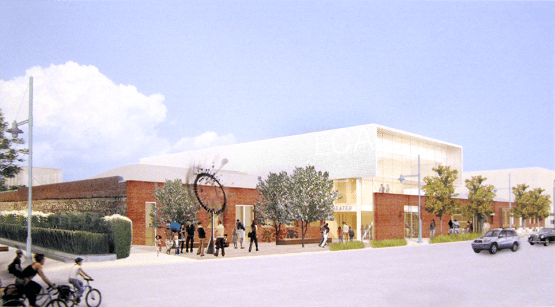 Hollis view of the proposed ECA Facility