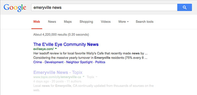 google-search-emeryville-news