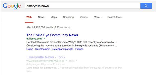 google-search-emeryville-news