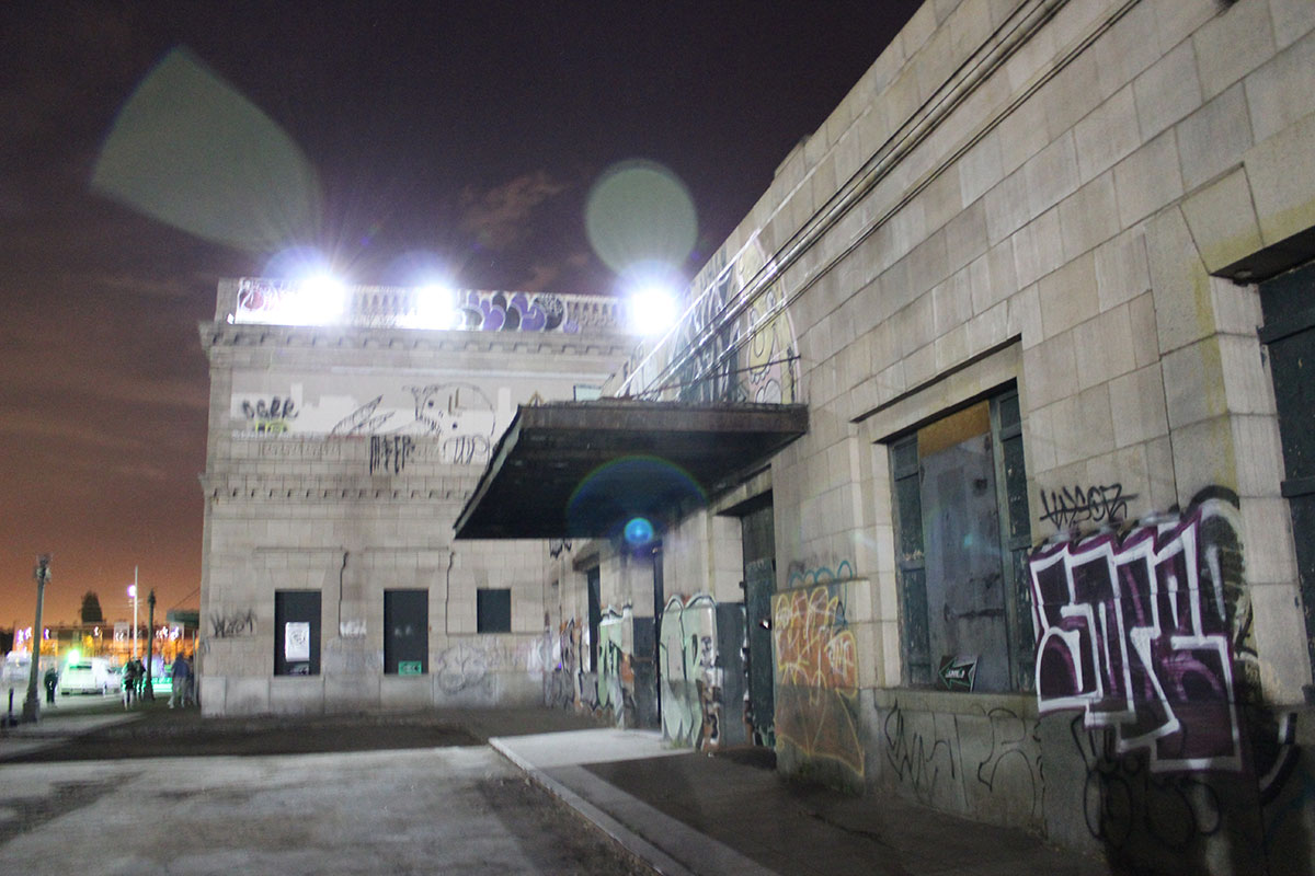 West Oakland Turns 16th Street Train Station Into Halloween