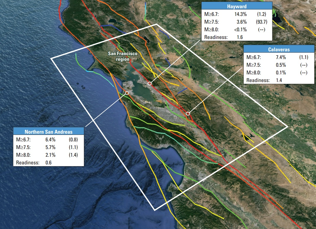 Will Emeryville Survive The Next Major Earthquake And Resulting - Hayward fault line map