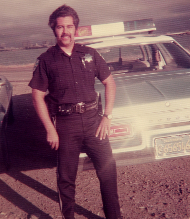 Ron Choss in the 1980's prior to being dismissed by the EPD (Photo: Michele Choss).
