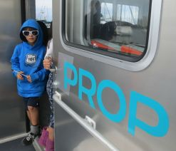 A young Prop rider.