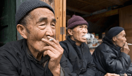 smoking-China